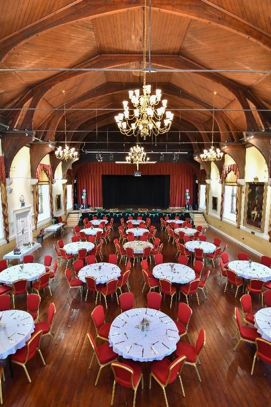 Launceston Main Hall Dining