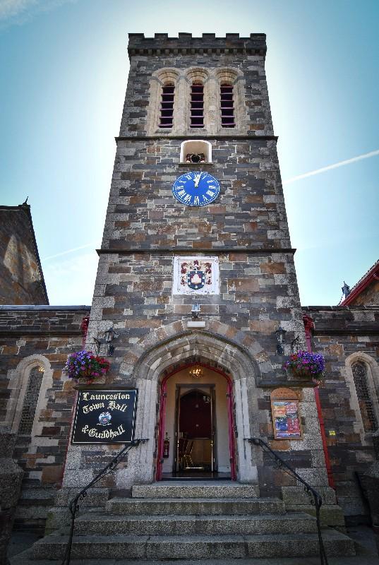 Launceston Town Hall Front Door