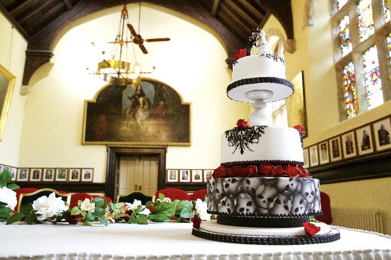 Gothic Cake Launceston Guildhall