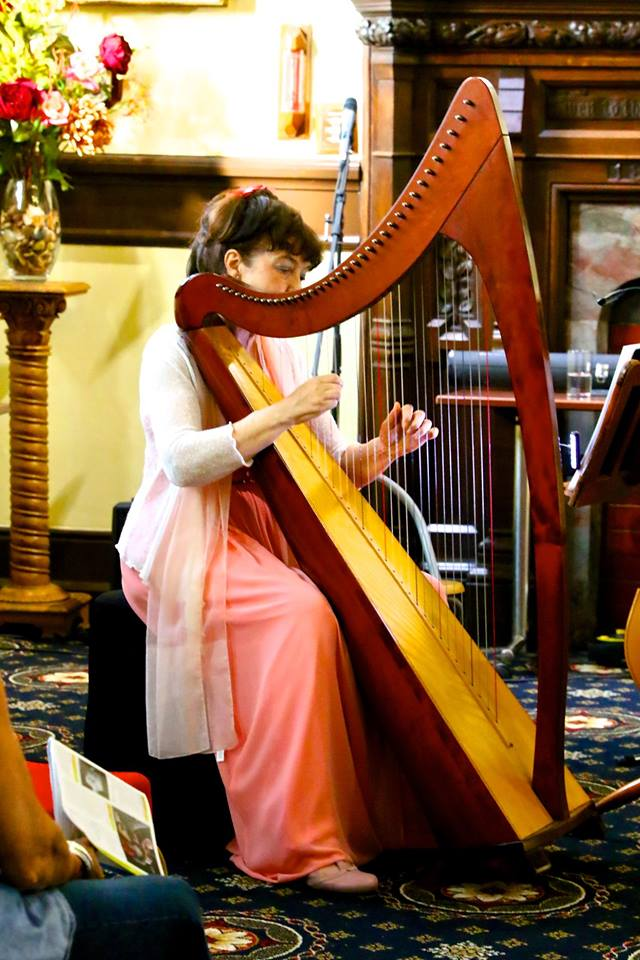 Guildhall Griggs and O'Connor harp