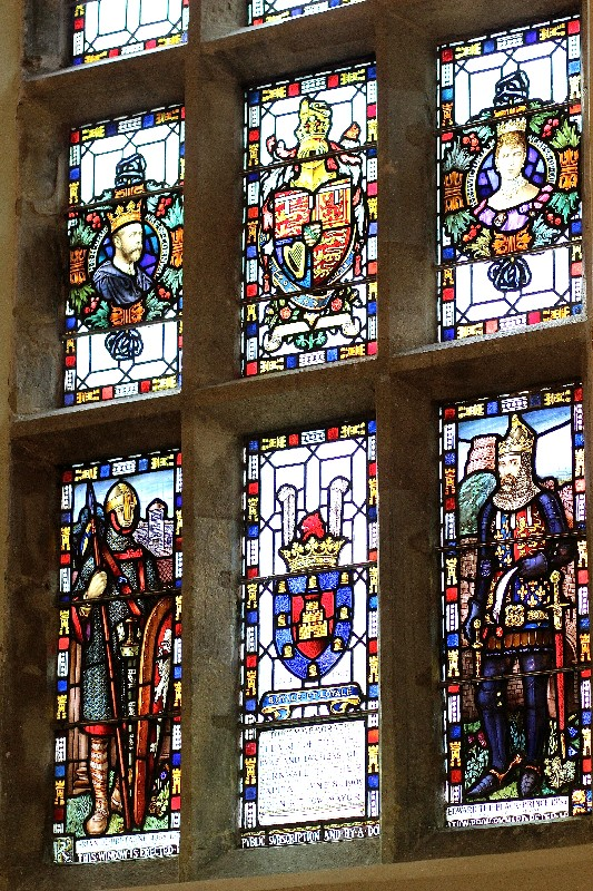 Launceston Guildhall Stained Glass Window