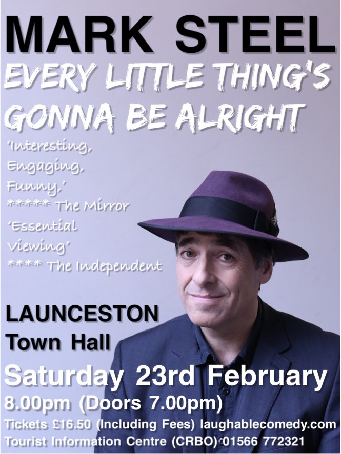 Mark Steel Launceston