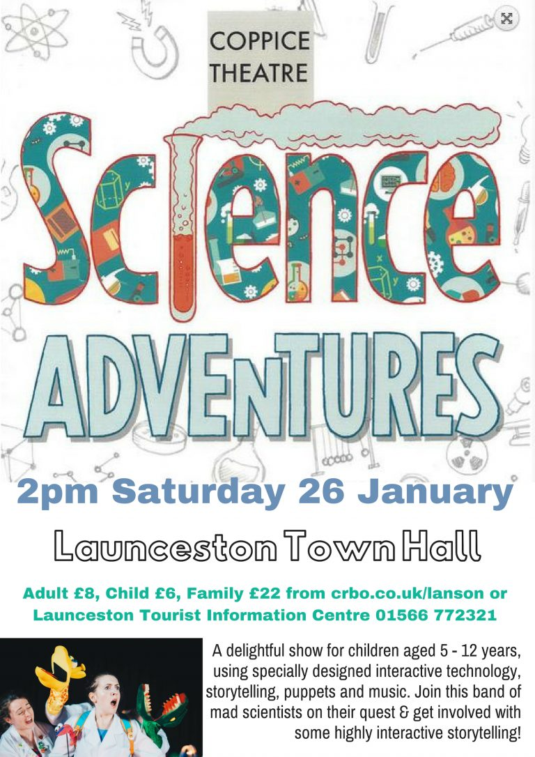 Science Adventures Launceston Town Hall